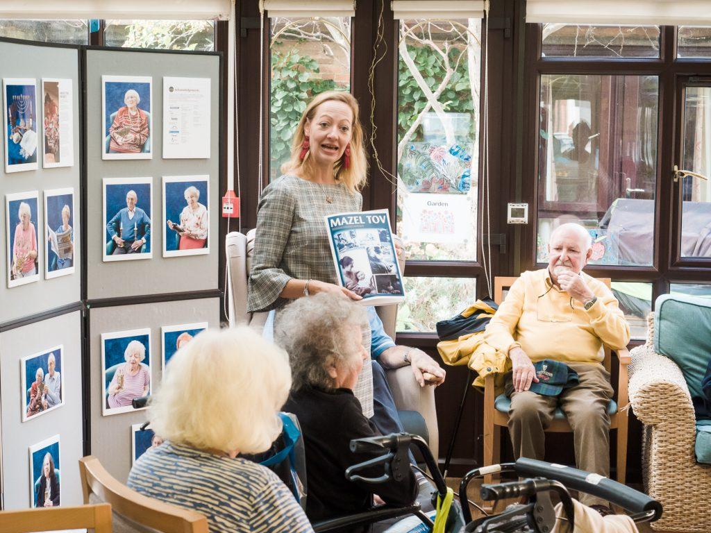Mazel Tov Brighton project magazine launch at Hyman Fine House,