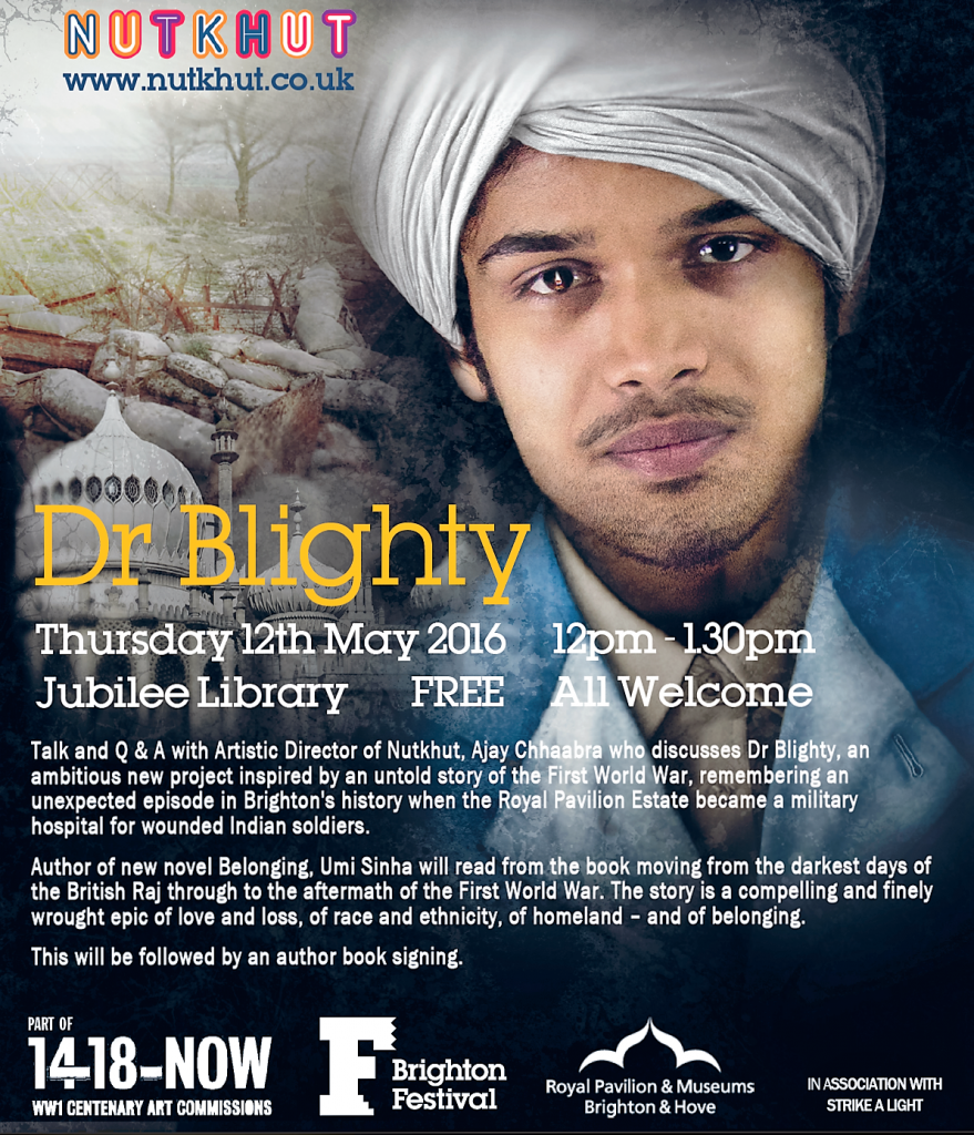 Dr Blighty lunchtime talk - 12th May