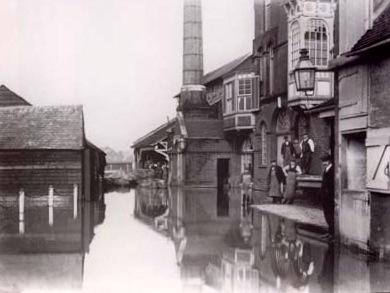 Harveys flood 1909