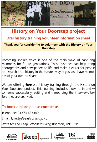 History on your doorstep