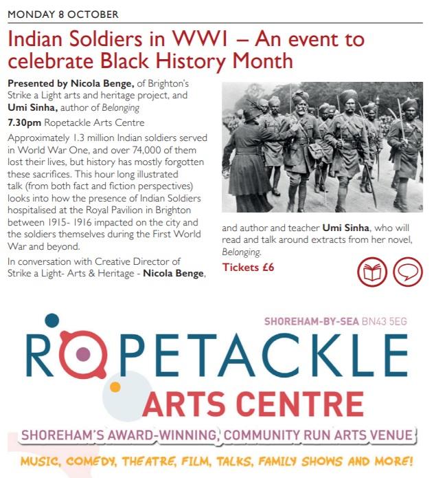 Indian soldiers talk - Wordfest