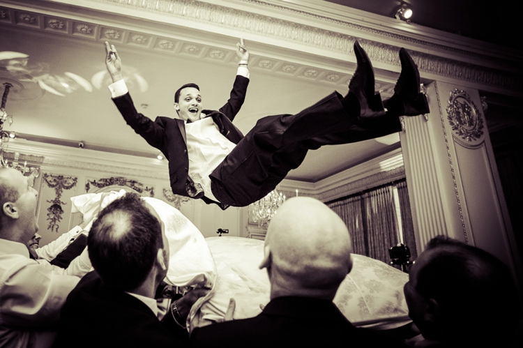 Images from Jewish dancing at Weddings.